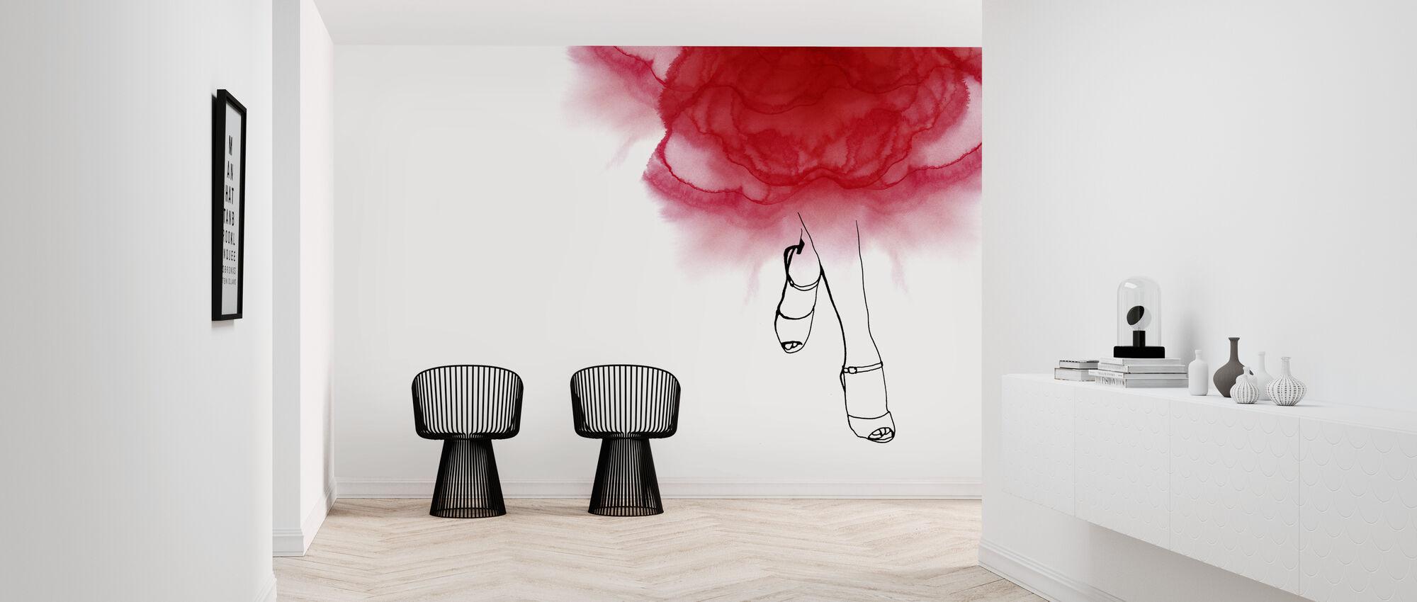 Walk with Me - Wallpaper - Hallway