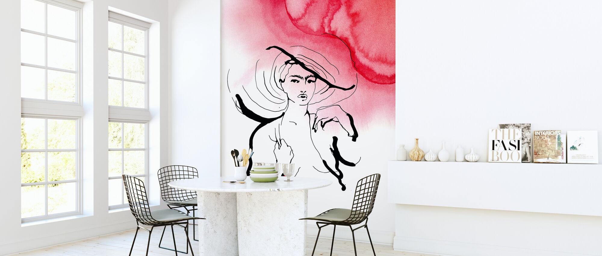 The Hat - Wallpaper - Kitchen