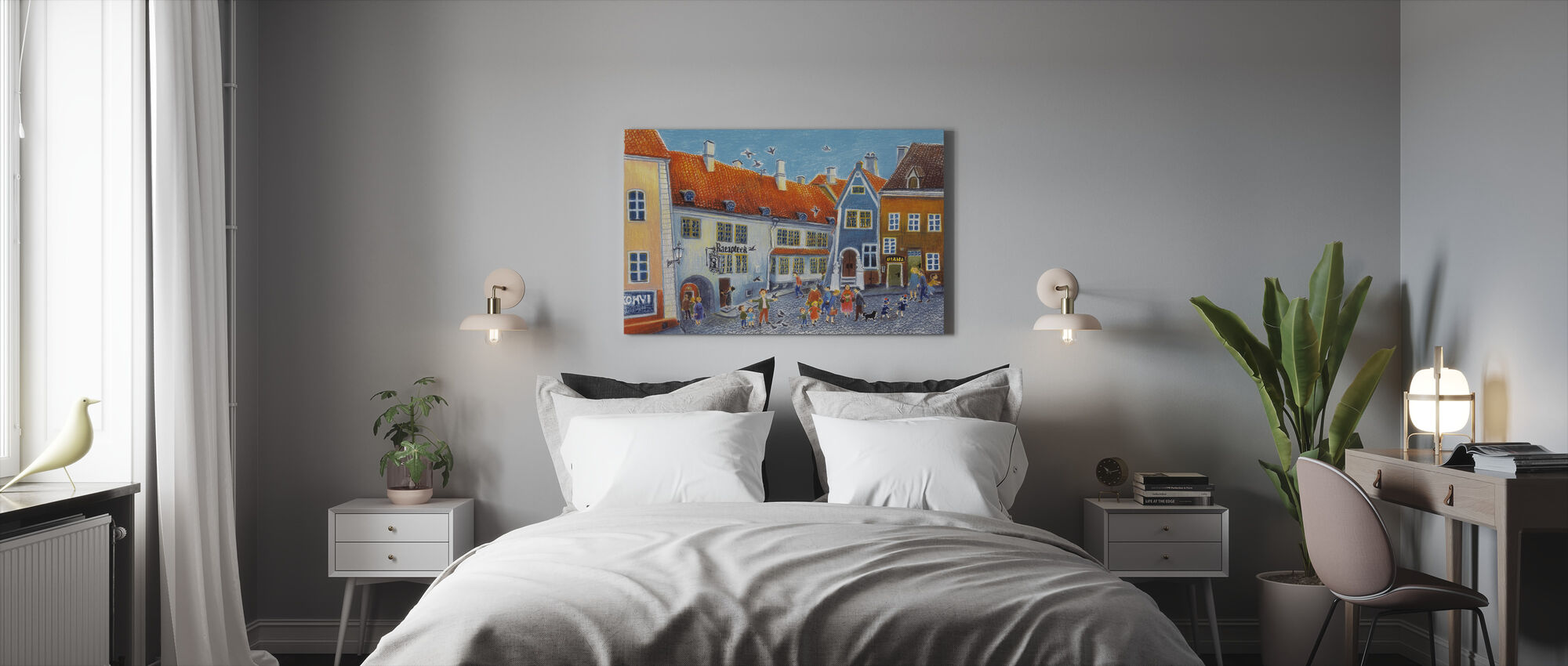 First Day of School - Canvas print - Bedroom